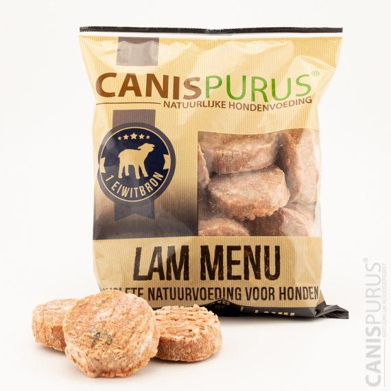 KVV Canis Purus Burger - Lam menu