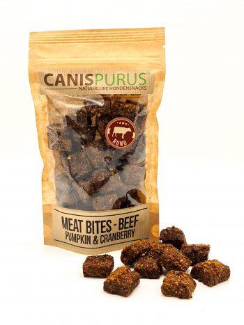 CP snack - Meat BITES Beef, Pumpkin & Cranberry
