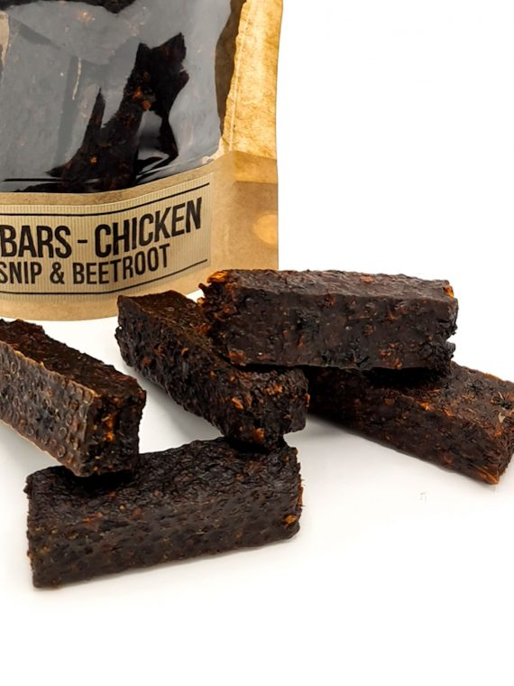 CP snack - Meat BARS Chicken, Parsnip & Beetroot