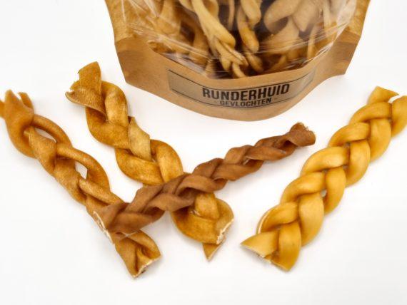 CP snack - Runderhuid -gevlochten-