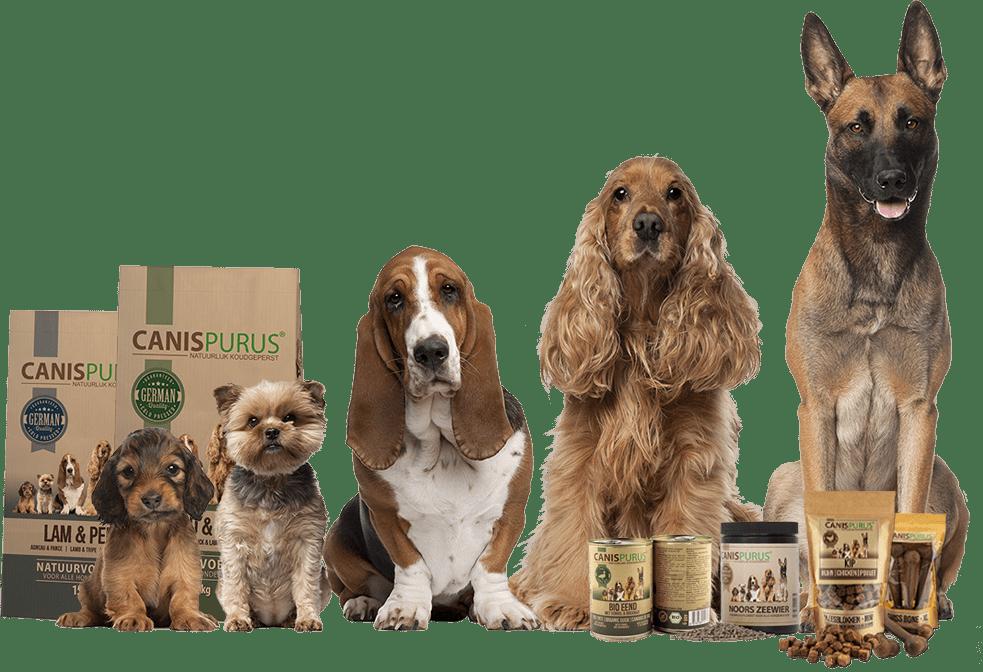 Canispurus | Groot assortiment natuurlijke hoedenvoeding, supplementen & snacks
